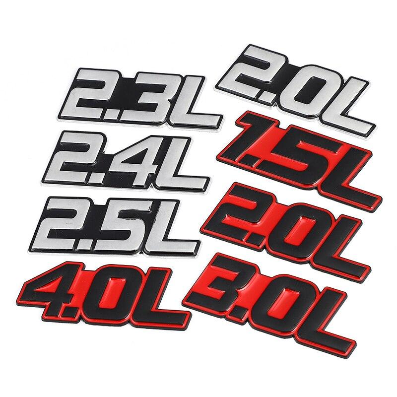Автомобильная Наклейка 3D металлическая л Эмблема багажника для BMW Audi Honda Chevrolet Toyota Subaru Hyundai Dodge