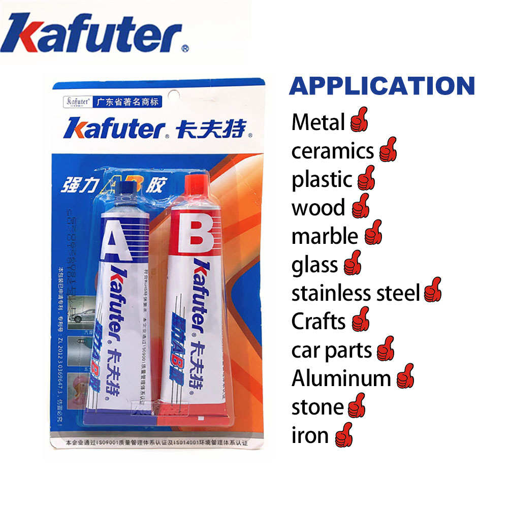AB glue iron stainless steel aluminium alloy glass plastic wood ceramic marble strong quick-drying acrylic structural adhesive