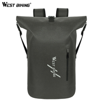 WEST BIKING Large Capacity Backpack 25L Travel Bag Outdoors Hiking Camping Cycling Rucksack Waterproof Shoulder Storage Bags|Bicycle Bags & Panniers| |  -