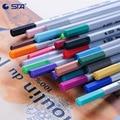Цветная ручка Fineliner 0,4 мм, 60 разных цветов, Микронная игла, цветная чернильная ручка, пигмент для студентов, товары