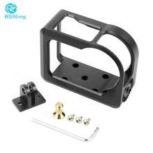 BGNing Camera Frame Aluminum Alloy Protection Shell Cooling Border Frame for Nikon KeyMission 170 KEY170 Protective Case