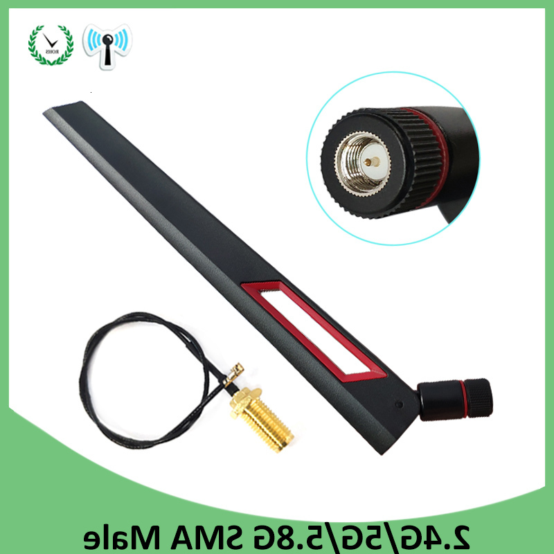 2.4GHz 5.8Ghz 12DBI WIFI Antenna Dual Band SMA Male Connector Antenna Hot Sale