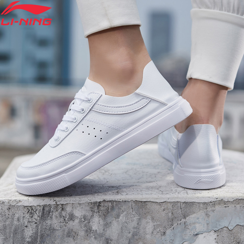 Li-Ning Women REMODEL Classic Lifestyle Shoes Light Foldable Heel LiNing Li Ning Comfort Sport Shoes Sneakers AGCP062 YXB302