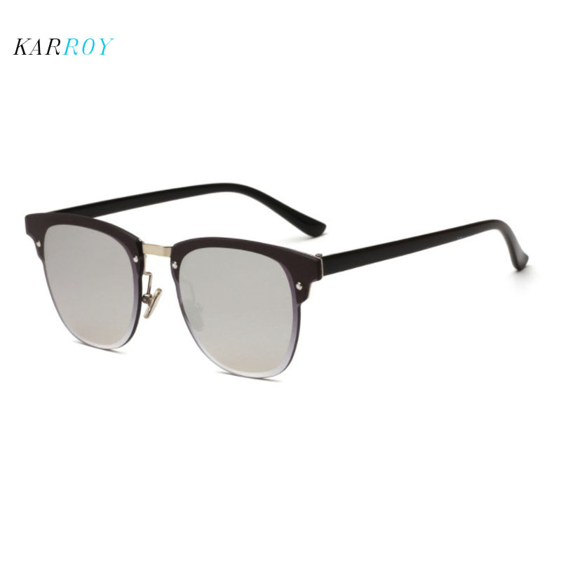 Vintage Nail Sunglasses Men Fashion Colorful Reflective UV400 Glasses Women in Men 39 s Sunglasses from Apparel Accessories