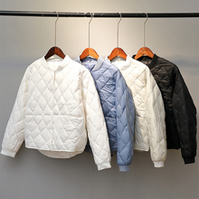 Coat Parkas Down-Jacket Short Oversize Duck-Down Ultra-Light Female Autumn Winter Women