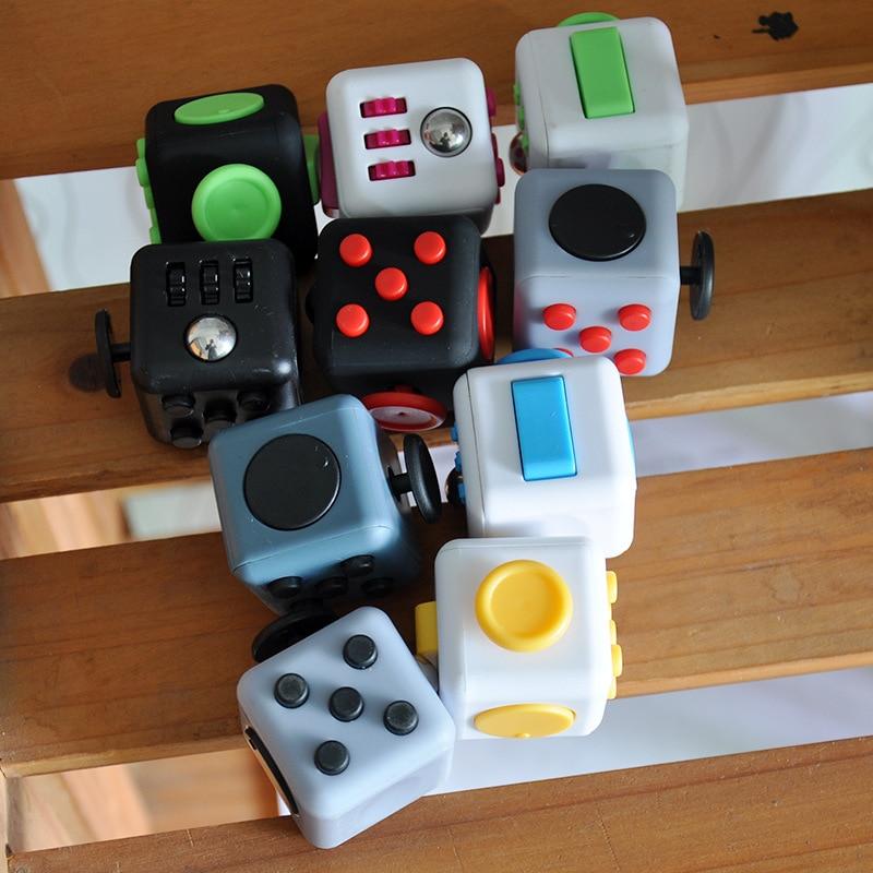 ZK20 традиционные антистресс гироскоп кубик для взрослых игрушка виниловые стол пальчиковые игрушки, Выжми веселье, снятие стресса Антистре...
