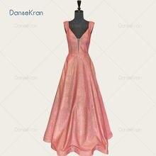 Блестящие иллюзионные красные платья с v образным вырезом для
