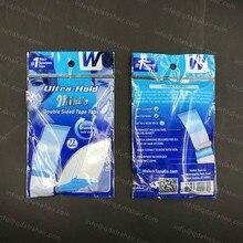 Ultra trzymać mini Doulbe dwustronna taśma klejąca, karty do 6 tygodni czas przechowywania System włosów taśma T022