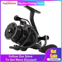 Tsurinoya NA 2000 3000 4000 5000 słonowodne Spinning Fishing Reel 9BB stosunek prędkości 5.2:1 aluminiowa szpula karpia kołowrotek