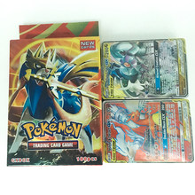New Pokemon Trading Card Game Sword Shield Collection Shining Box GX Flash Card Energy Trainer Tag Team 100pcs Toys for Children(China)