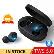 A6S TWS  Bluetooth Earphone wireless bluetooth headphone with microphone HIFI Stereo Sports Noise Reduction bluetooth earphone wireless in ear noise reduction bluetooth headphone with microphone sweatproof stereo earphone