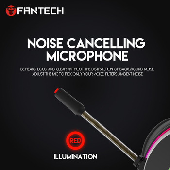 FANTECH HG23 Headphone Personalize With Octane 7.1 RGB USB Just Wired Gaming Headset Alloy Earmuffs For PC PS4 Gaming Headphones 5