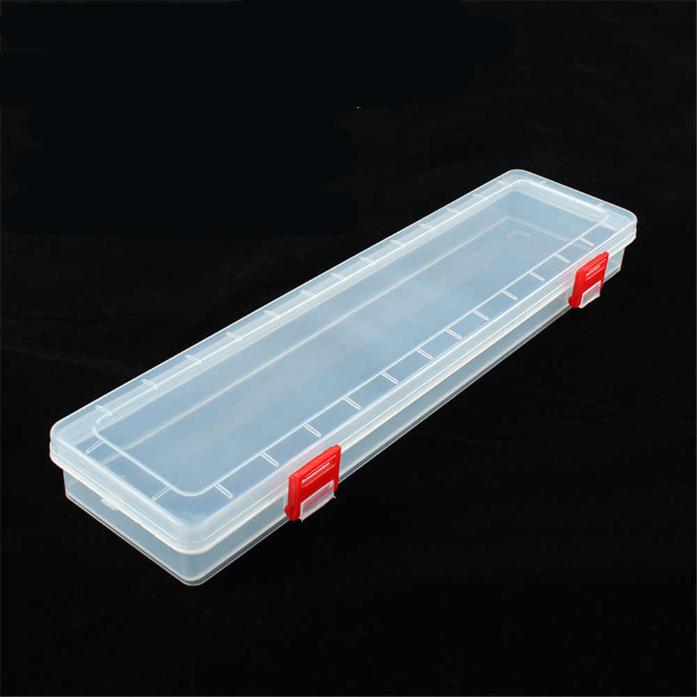14 Inch Long Transparent Parts Box Extended Tool Box PP Transparent Box Tool Storage Box