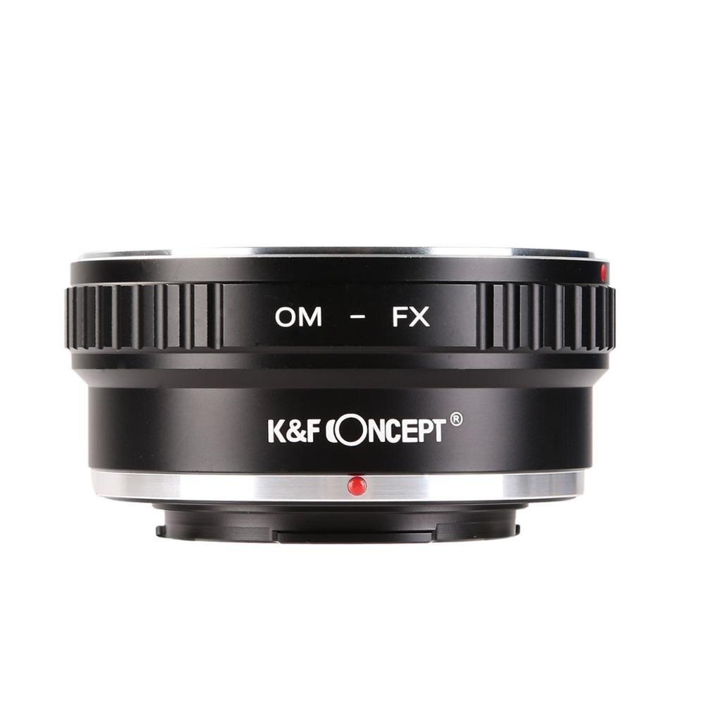 K & f concept adapter для объектива крепления olymous om к fujifilm