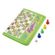 Игра для родителей и детей нетканый ковер шахматы змеи лестницы