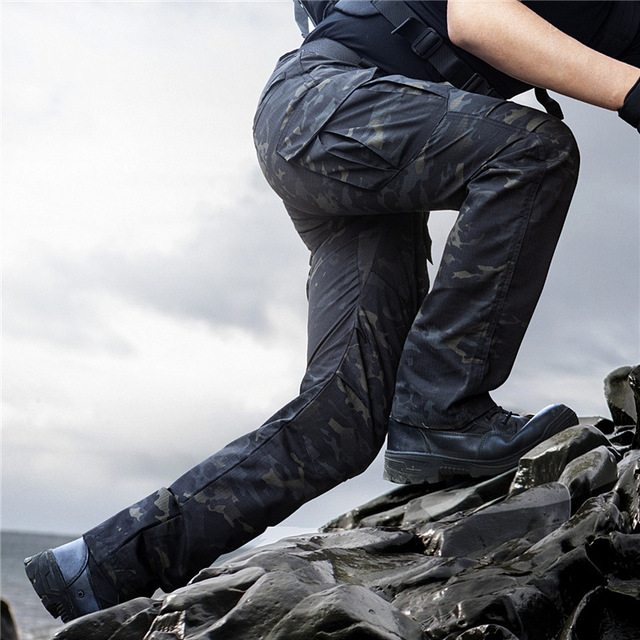 6XL City Military Casual Cargo Pants Elastic Outdoor Army Trouser Men Slim Many Pockets Waterproof Wear Resistant Tactical Pants 2