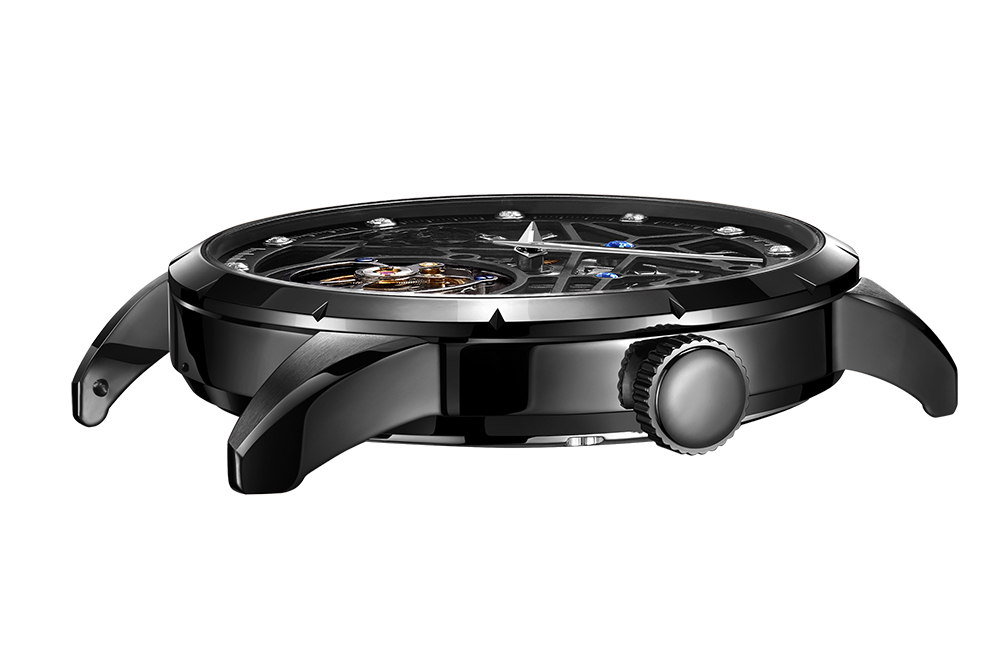 Super New Model GUANQIN Original Tourbillon business men watch top brand luxury Skeleton Sapphire  clock men Relogio Masculino 7