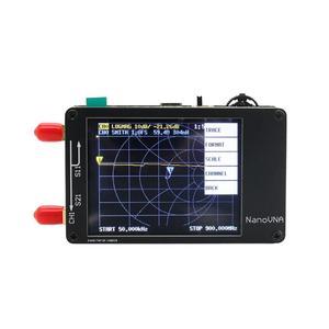 Image 1 - TZT NanoVNA Vector Analyzer 50KHz 900MHz HF VHF UHF Antenna Analyzer 2.8 inch LCD Display with Battery