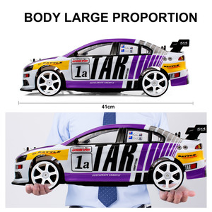 CSOC 45 Km/h 1:10 High Speed RC Drift Racing Cars Remote Control Toys Vehicle for Boys Big Off-road 4WD LED Headlight Dropship