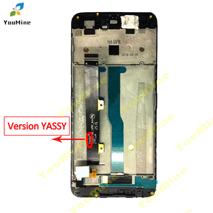 Image 3 - Cho ZTE Blade A610 Màn Hình LCD Hiển Thị Màn Hình Cảm Ứng HD Bộ Số Hóa Màn Hình LCD Khung Phiên Bản 318/A241/Yassy cho ZTE A610 Màn Hình LCD