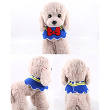 1 pc New Cat Dog Bandana Bibs Scarf Collar For Cats Puppy Adjustable Pet Cute Neckerchief Waterproof Saliva Towel