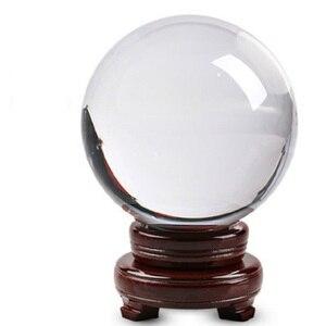 40mm-100mm bola de cristal bola de vidro de quartzo esferas de bola de vidro bola de vidro bola de fotografia bolas de cristal decoração de artesanato feng shui