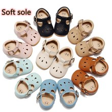Shoes Newborn Non-Slip Baby-Girls Genuine-Leather Soft-Sole Infant Breathable Solid Waterdrop