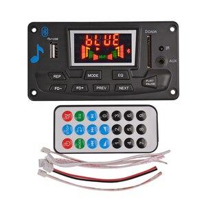 Image 5 - Aiyima 12v 4.2のbluetooth MP3デコーダオーディオモジュールスペクトラム表示ロスレスapeデコードサポートapp eq fm aux車アクセサリー