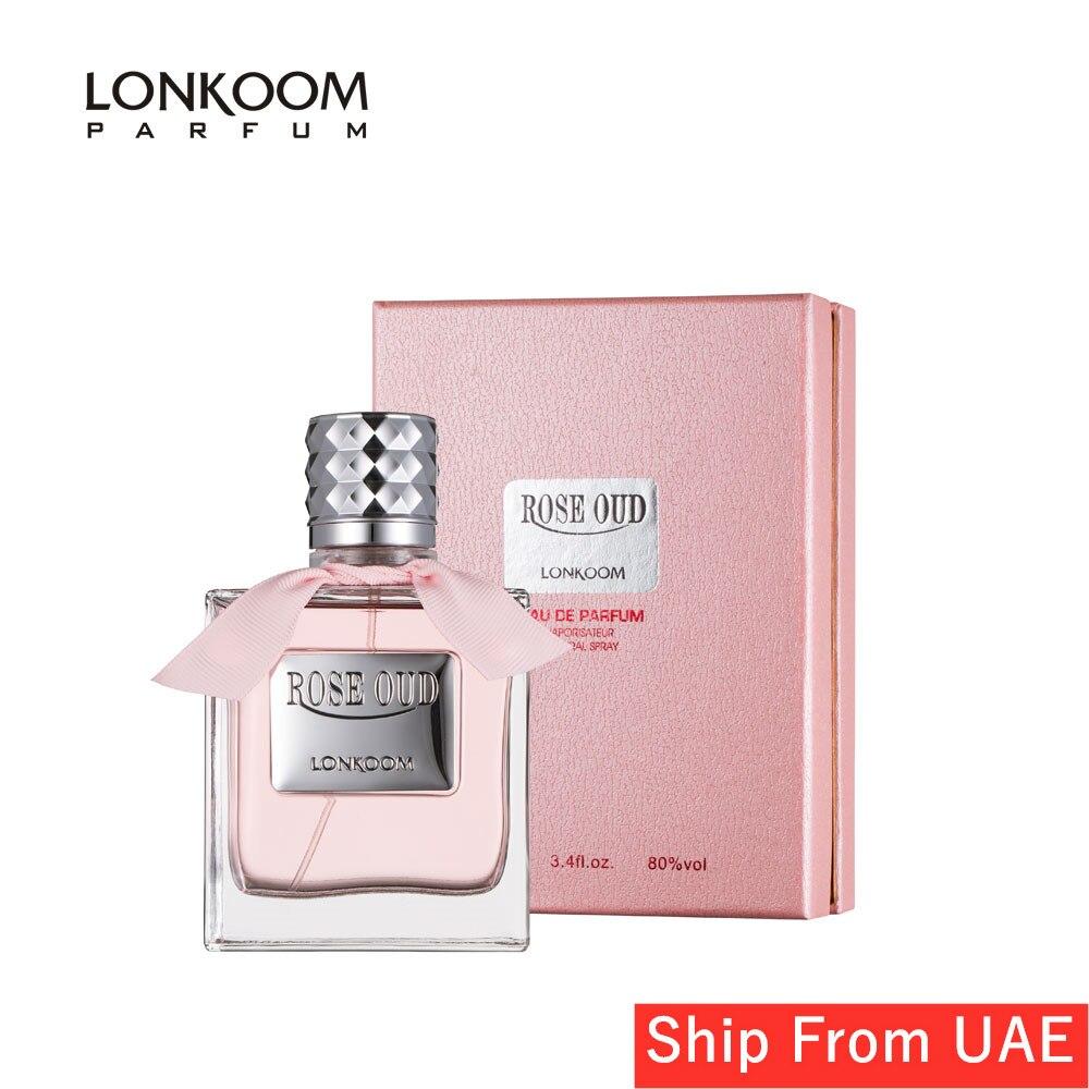 LONKOOM Perfume-Women's Fragrance Eau De Parfum Floral–Fruity Long Lasting Aroma Perfume Spray For Women 100ml Free Shipping