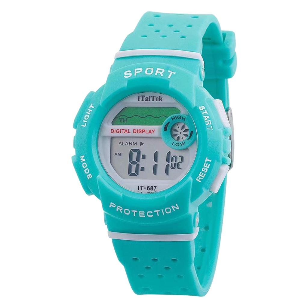 Multi Function Luminous 30M Deep Waterproof Outdoor Sports Watch Fashion Electronic Watch Fashion Kids Watch Relogio Infantil 20