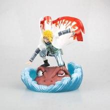 Anime na deluxe ver. Gk modelo gama bunta namikaze minato ação pvc figura yondaime hokage brinquedo estatueta collectible 20cm
