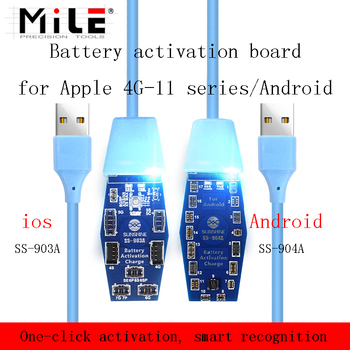 MILE SS-903A/904A Battery Quick Charging Activation Board For iPhone 11 Pro Max XS XR X 8 7 6S And Samsung Huawei Android