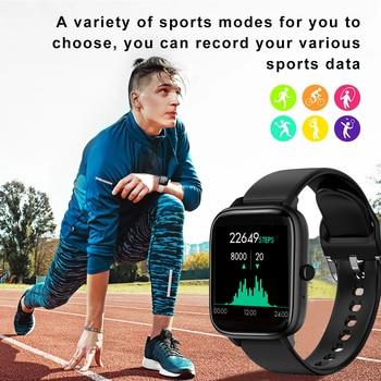 Bluetooth Calls Smart Watch Men Women Waterproof Heart Rate Music Player Pedometer Smartwatch For amazfit Huawei Apple Xiaomi 2
