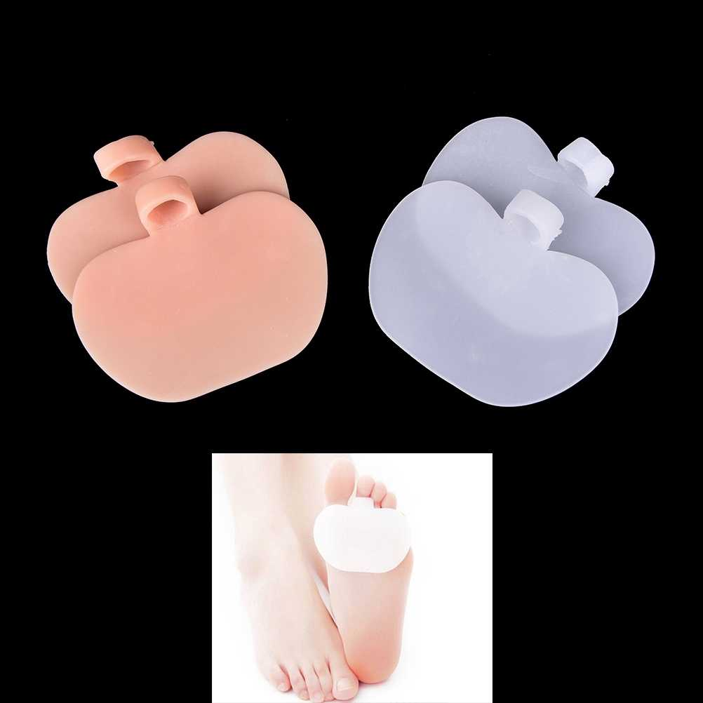 High-heeled Shoes Forefoot Cushion Pads Silicone Gel Insole Orthotics Half Yard Pad Foot Care Insoles 2 Colors 1 Pair