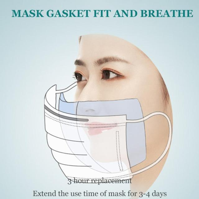 100pcs Disposable Filter Pad for Kids Adult Face Mouth Mask Respirator Anti-dust Masks 2