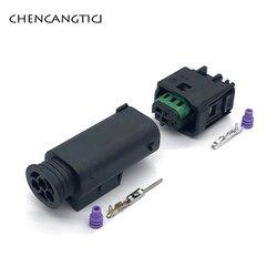 2 комплекта 3-контактный водонепроницаемый автомобильный мужской женский Радар для Benz BMW C200 9-967081-1 968402-1 1 1-967642-1