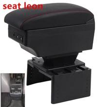 Для seat leon подлокотник коробка центральный магазин содержимое коробка