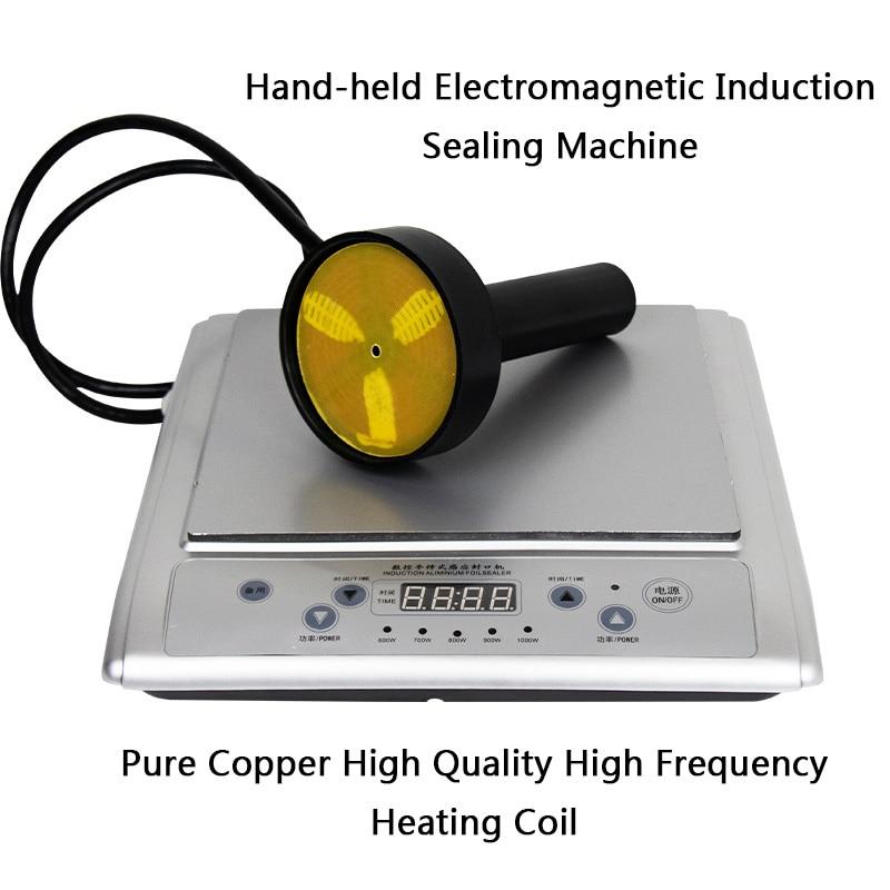 Hand Induction Sealer Aluminum Foil Gasket Plastic Bottle Sealer Bee Milk Bottle Glass  Medicine Food Sealer  Machine Vacuum|Food Processors| |  - title=