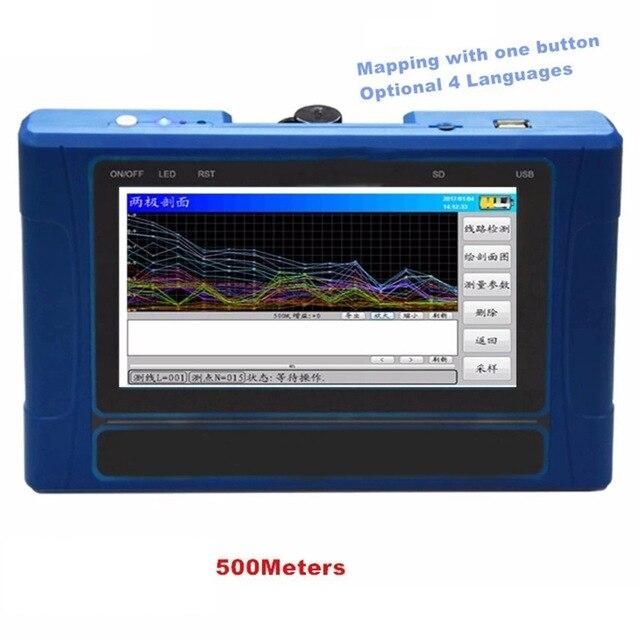 TC500 przenośne podziemne urządzenie do szukania wody lokalizator kopalni wykrywacz wody powłoki
