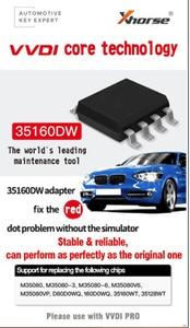 Image 3 - 5pcs/lot VVDI 35160 35160DW M35080 Dashboard Red Dot SOP8 IC Chip No Need Simulator 35160WT M35160D0WT EEPROM CG Pro VVDI Prog