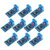 10Pcs 5V-12V NE555 Adjustable Resistance Frequency Pulse Generator Module Single Channel Output Module