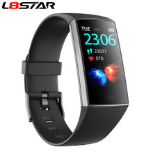L8star Smart Gelang Multi-Sport Tekanan Darah Heart Rate Monitor Pedometer Kebugaran Tracker Smart Clock Pria Wanita Gelang(China)