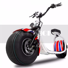 Motorcycles Electric Scooter Adult 1200W Fat Tire 72V 12AH Third Speed APP Lithium Cruise Control Motorcycle