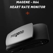 Монитор сердечного ритма MAGENE Mover H64, устройство для отслеживания сердечного ритма, Bluetooth, нагрудный ремень, для компьютера, велосипеда, Wahoo, ...