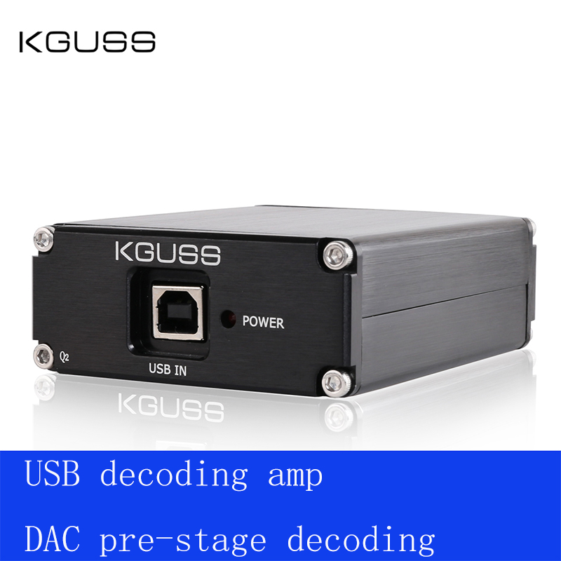 2020 New KGUSS Q2 Breeze Audio ESS ES9018K2M + AD823 + SA9023 USB DAC Decoder External Sound Card Amplifier Beyond ES9023 DAC