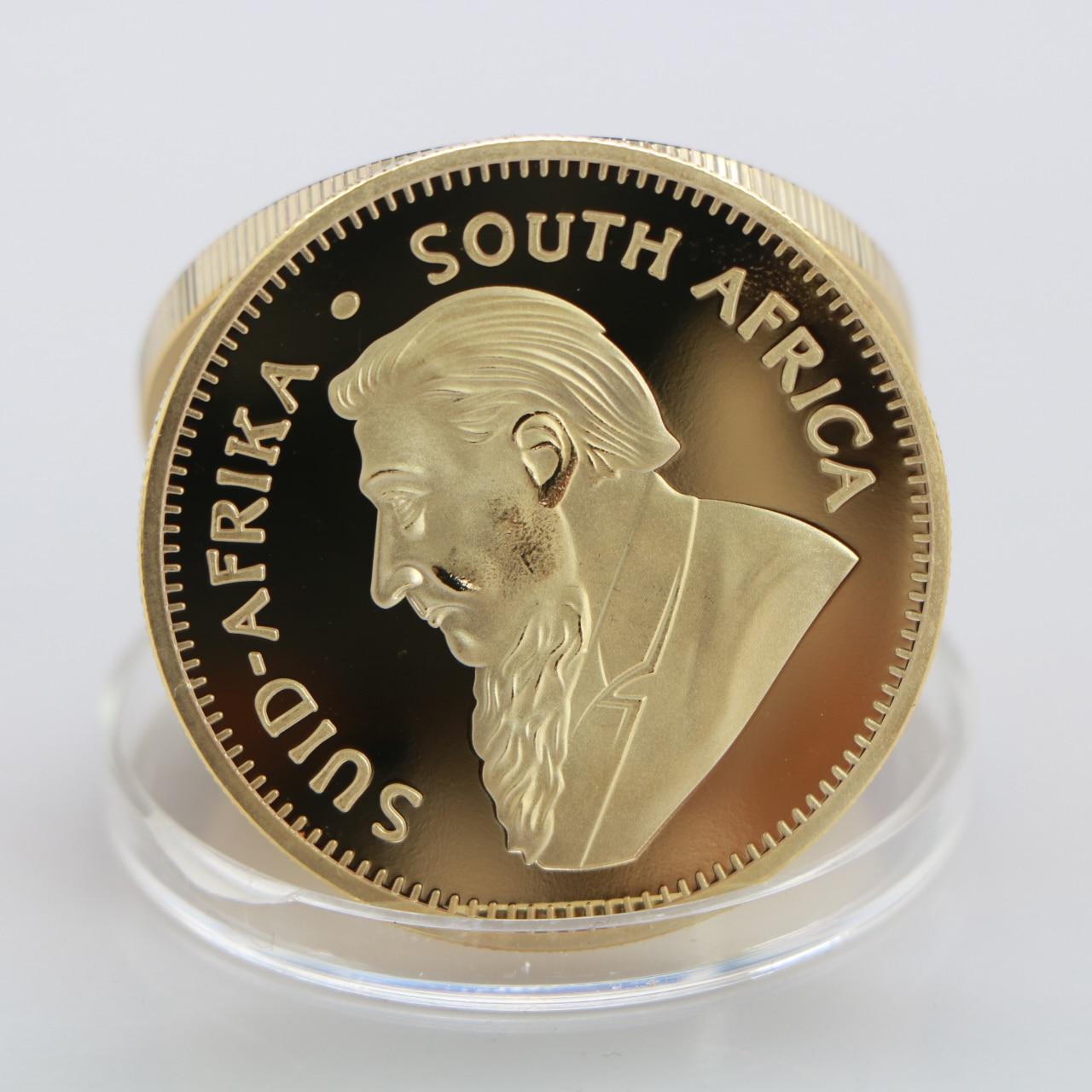 1967 keke 1967 S/üdafrika Saudi-Afrika Krugerrand 1OZ Goldm/ünze Paul Kruger///Value Collectible Coins