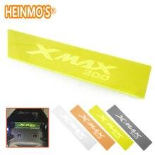 Xmax 300 отсек багажного отсека изолирующая пластина для yamaha x max акриловые аксессуары xmax 300 для мотоцикла yamaha