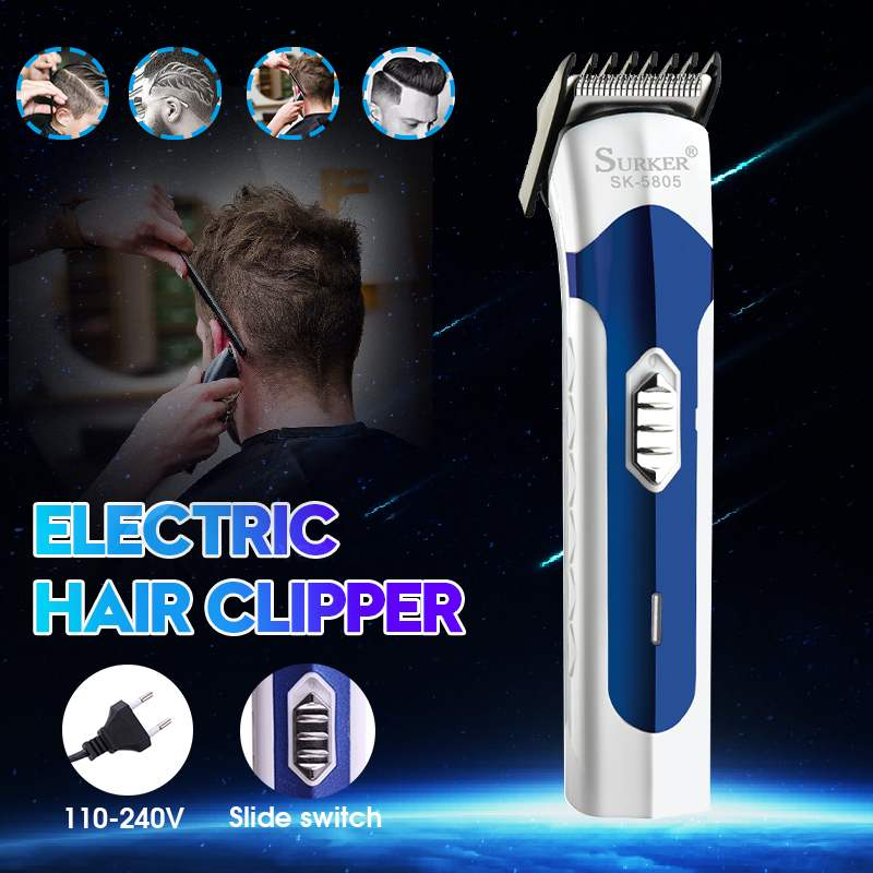 Professional Household Hair Trimmer With Comb For Men Rechargable Electric Hair Cutter Clipper For Women Split End 110v 220v
