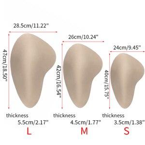 Image 3 - Sexy Crossdresser Silicone Hip Pads Shemale Fake Butt Transgender Enhancing Fake Ass Enhancer Buttock Butt Lifter Polyester