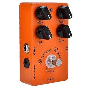 Caline CP-18 Burst педаль для гитарного эффекта овердрайв оранжевый усилитель аксессуары для гитарной педали